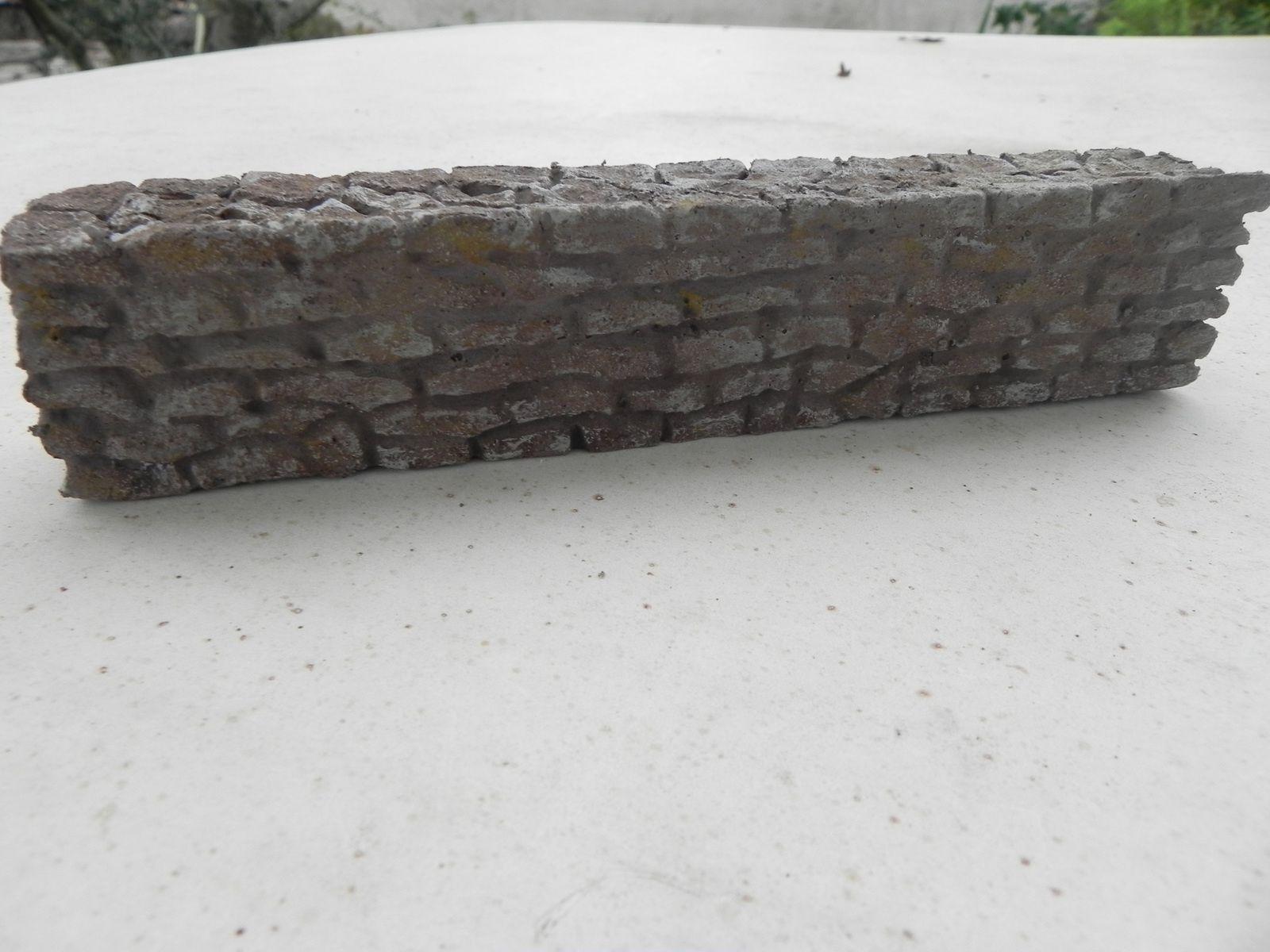 murs entiers et cassés