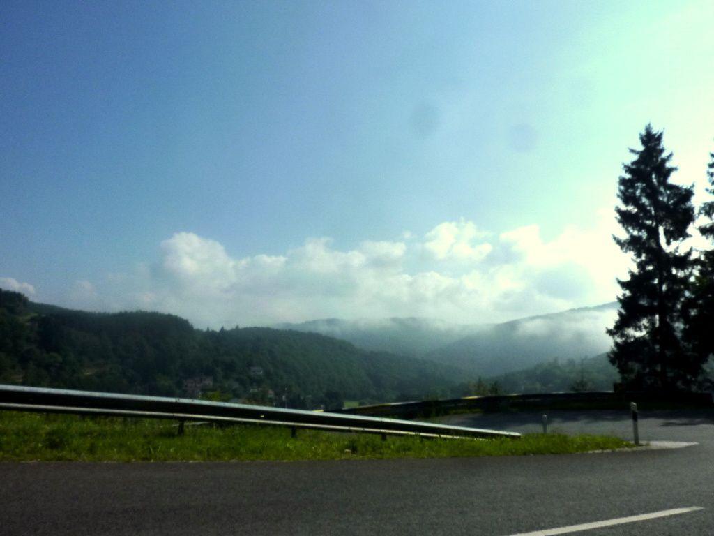 A 10 Kms de Vianden en venant de Wiltz, le paysage