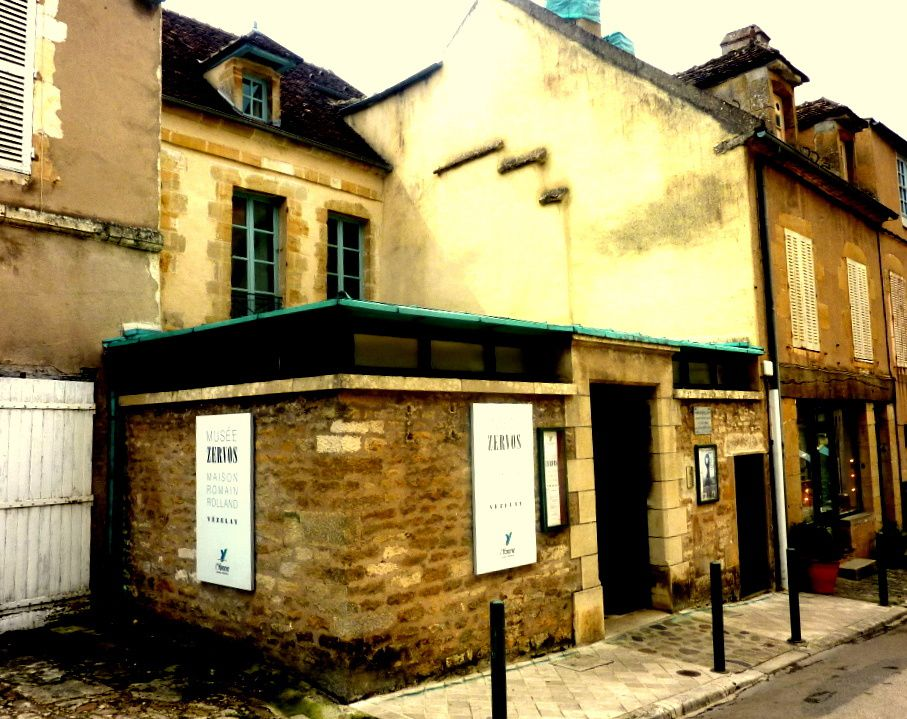 Le Musée Zervoz qui fut la maison de Romain Rolland. Son bureau
