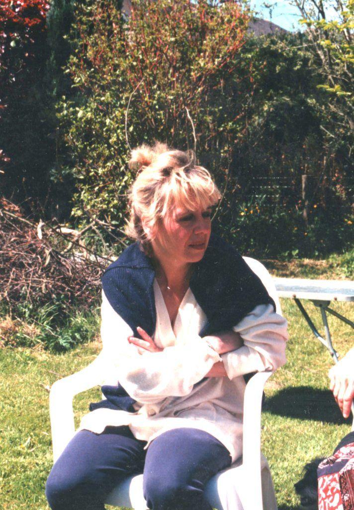 Liliane Guisset à Moircy en mai 1997