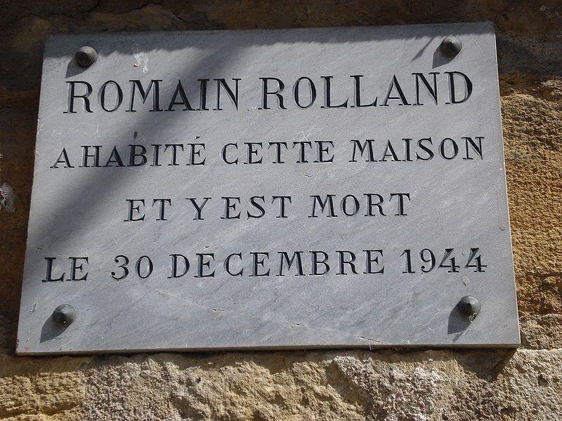 Romain Rolland. Sa maison à Vezelay (Musée Zervos), son salon et son piano (que j'ai visités en 2014)