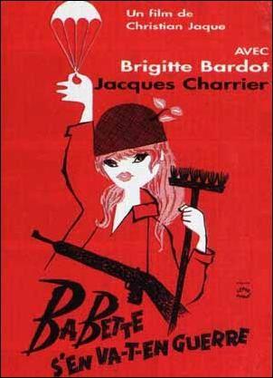 Babette s'en va t'en guerre. Mariage avec Jacques Charlier