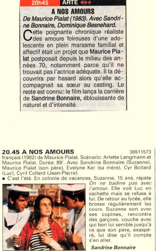 Bio 263 - 4e trimestre 2000