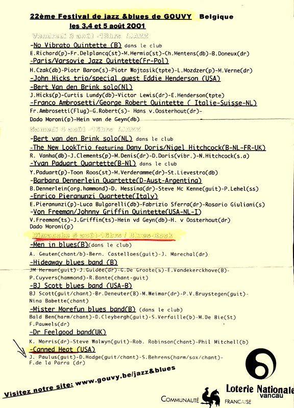 Bio 266 - 3e trimestre 2001- Spa