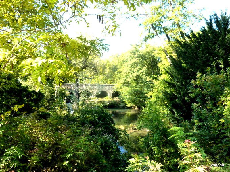 Les différentes Sorgues de Velleron, et notamment le Pont de l'Avocat