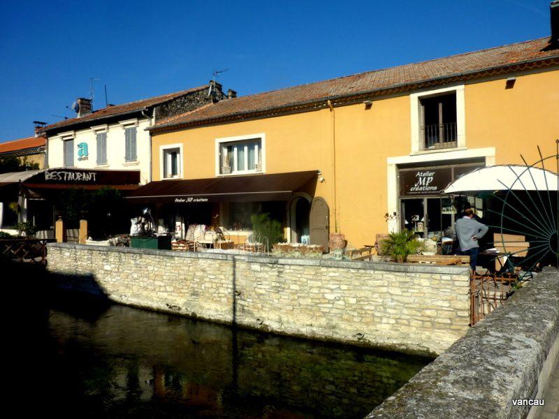 L'Isle-sur-la Sorgue en Vaucluse en octobre 2015