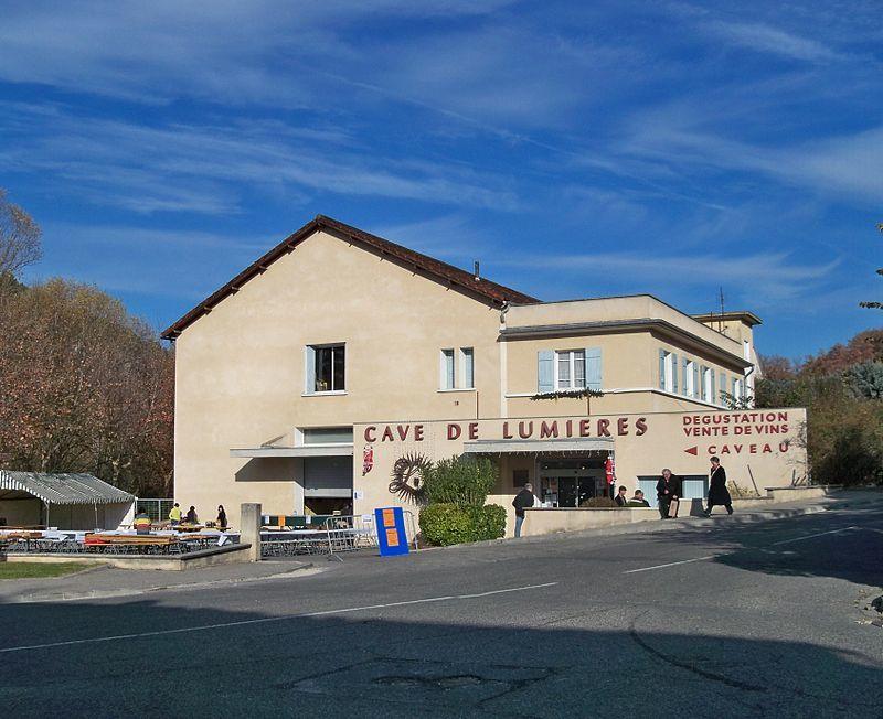 GOULT en LUBERON. Visité en 2015