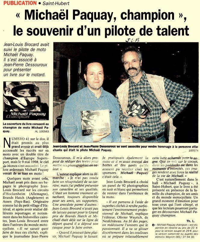 Bio 279 - Décembre 2002