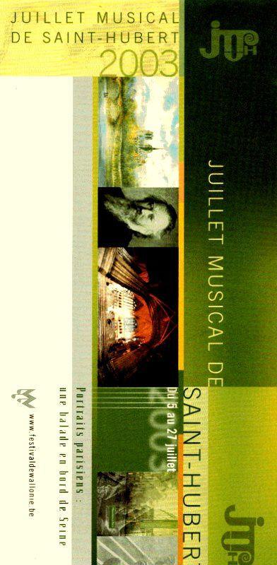 Bio 286 - Juillet 2003