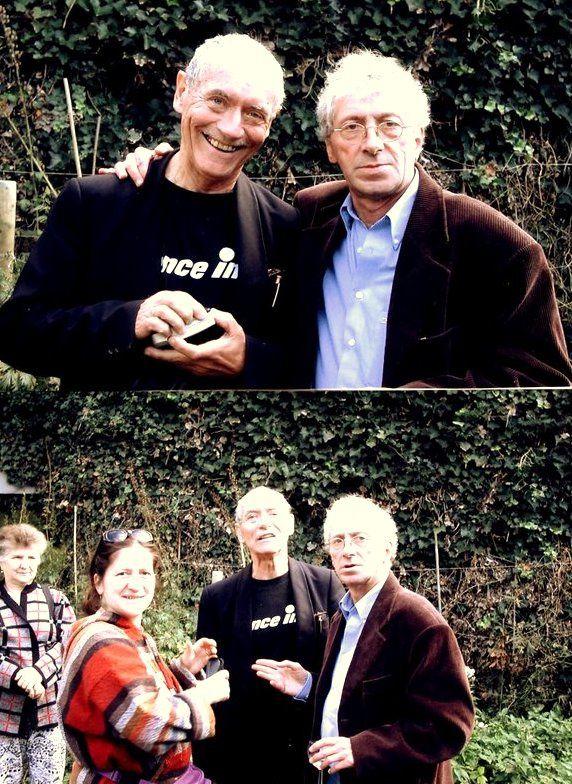 Dernières photos Vital Lahaye et Christian Vancau en dialogue. Voir ci-dessous Vital Lahaye