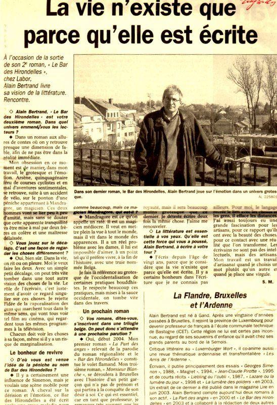 Bio 290 - Novembre 2003