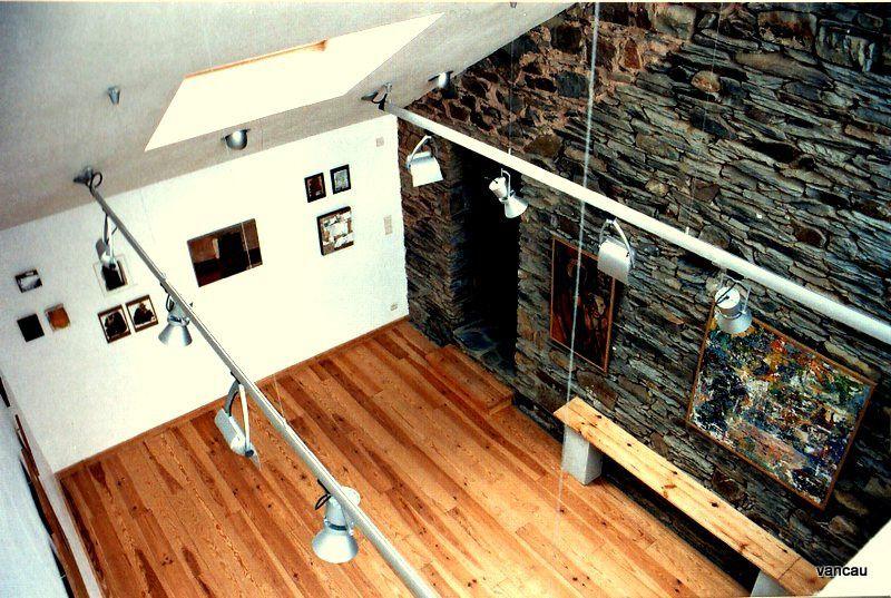 Bio 307 - Avril 2005. Placement de l'éclairage dans la Galerie