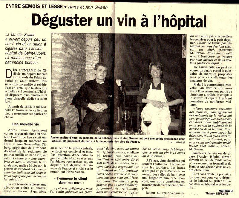 Bio 308 - Mai 2005. Les hollandaises à Moircy