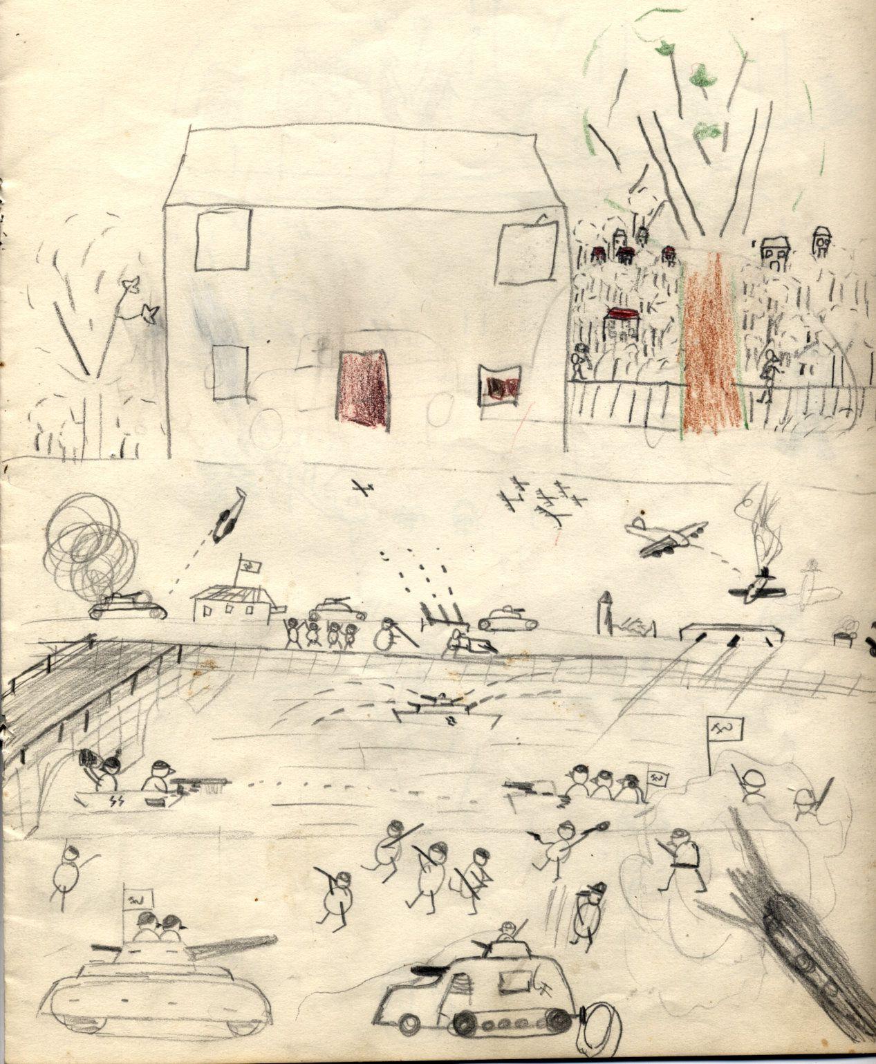Ma Biographie 12 - Mes dessins de 1944-45