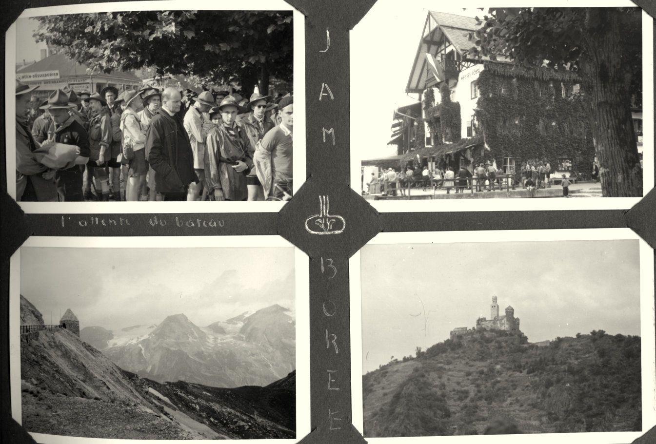 Ma biographie 34   Jamboree en Autriche  1951