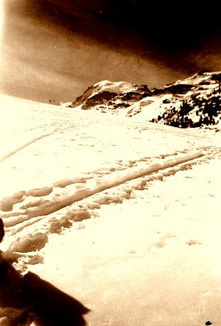 In fine le Glacier de la Diavolezza