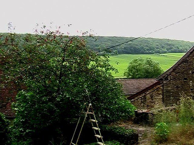 ROYER  D'abord notre gîte et ensuite le village