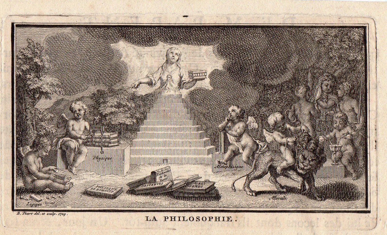 Une représentation extravagante de la philosophie