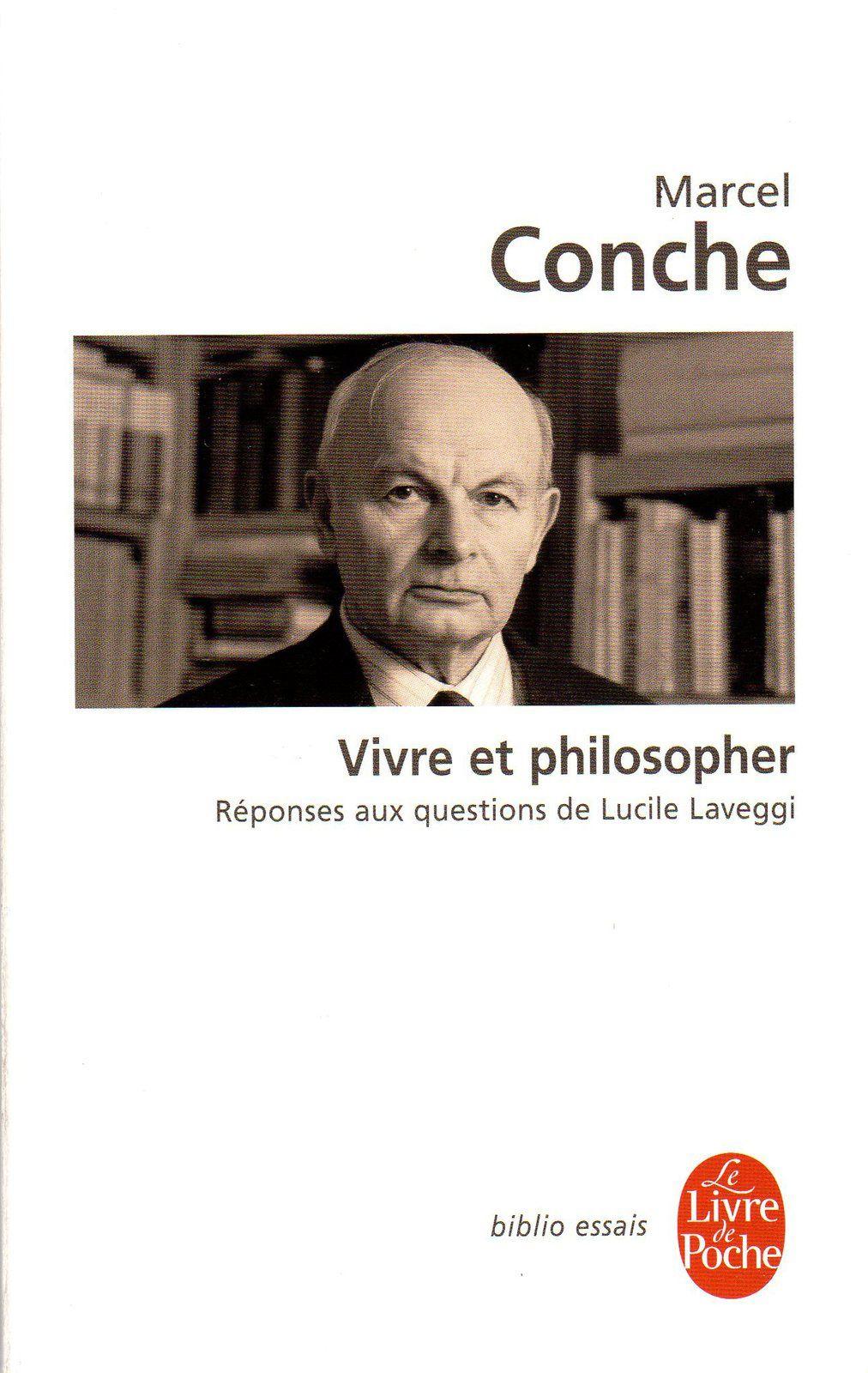 Conche et Heidegger