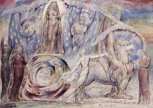 William Blake, Béatrice et Dante
