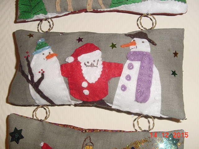 petis coussinets pour Noël