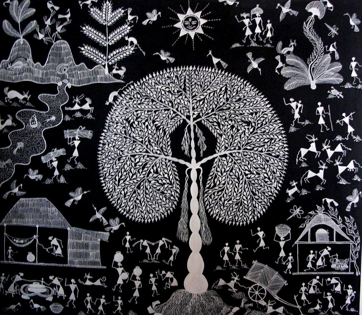 Où trouver l'art aborigène en décembre, janvier: Lyon, Bruxelles, Grenoble.