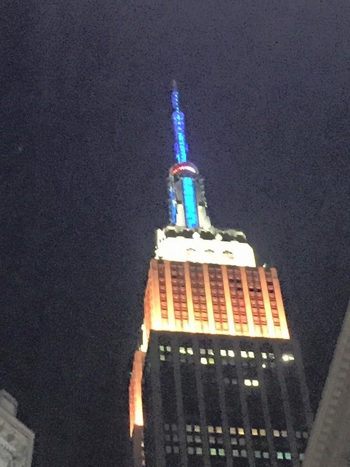 C'est déjà fini ! New-York, tu nous as encore enchanté cette année. Vive la grosse pomme et les lumières de Brodway. Brigitte