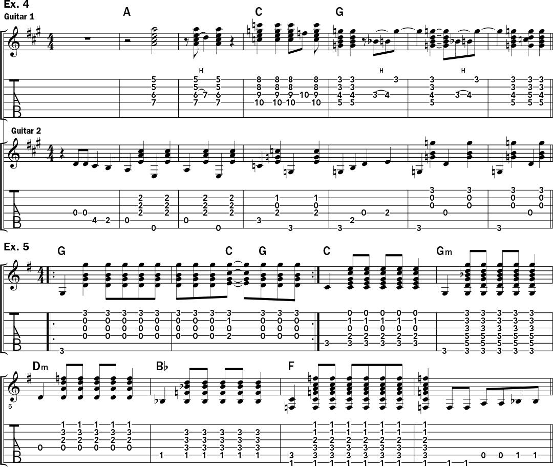 quelques exemples du style acoustique de Jerry Garcia