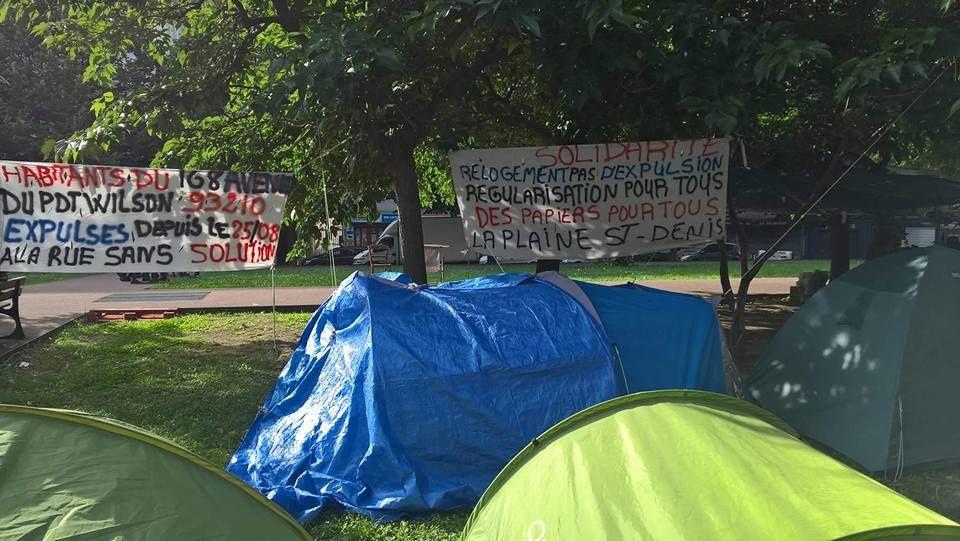 APPEL d'un collectif à la solidarité avec les expulsé-e-s du 168 avenue du Président-Wilson à la Plaine-Saint-Denis