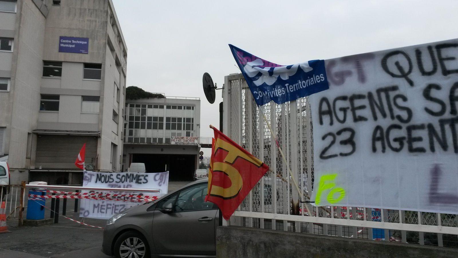 3è jour de grève au CTM de Saint-Denis : face à un mouvement déterminé, laisser pourrir la situation n'est pas responsable.