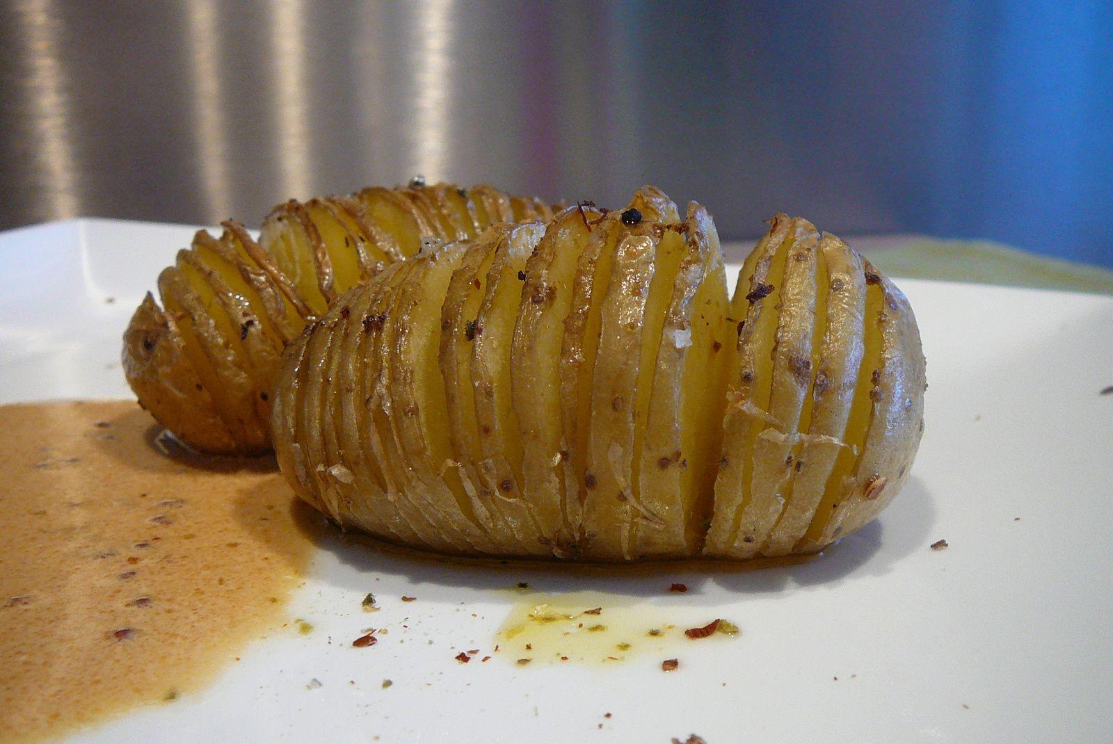 Pommes de terre tranchées aux épices