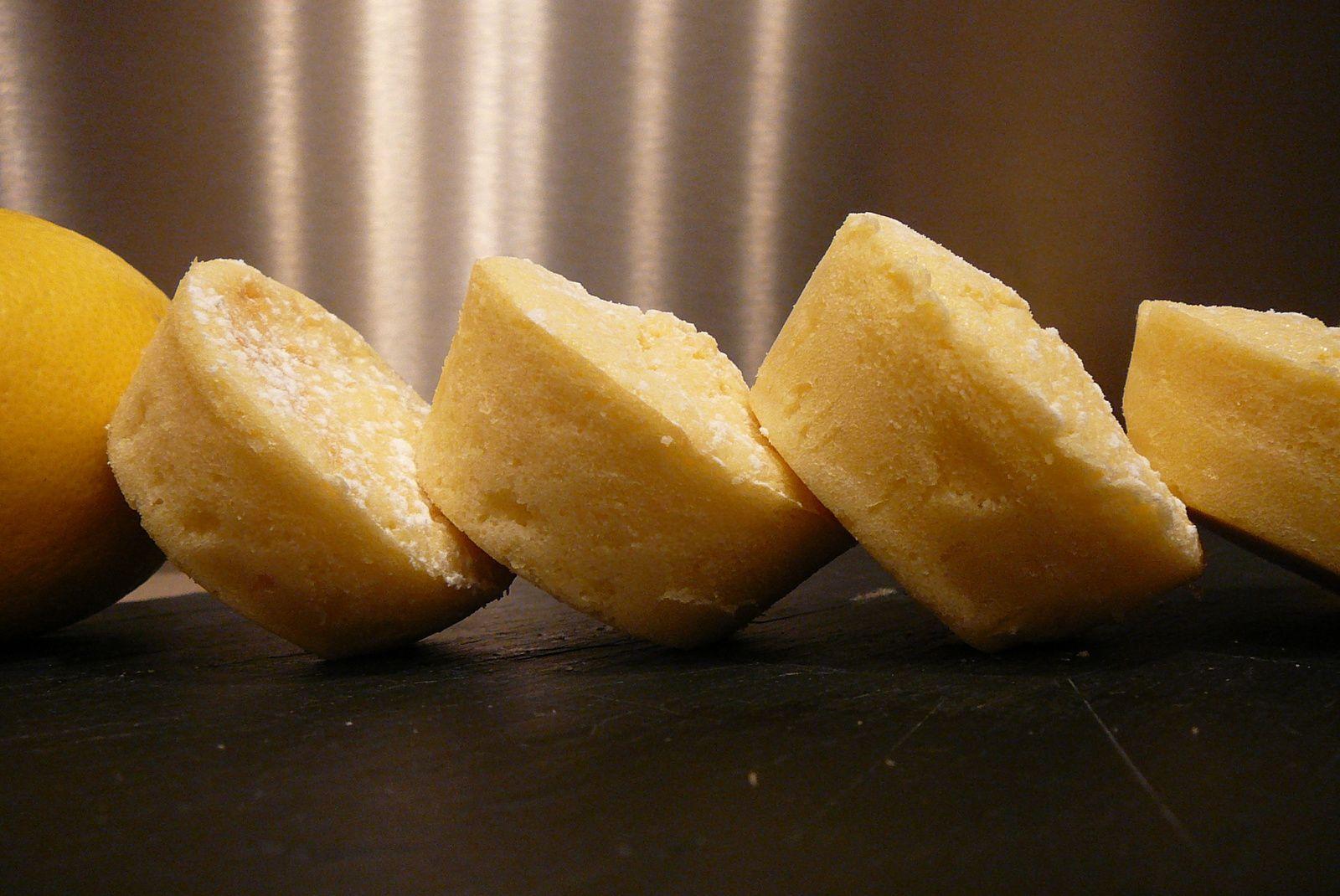 Moelleux mousseux au citron