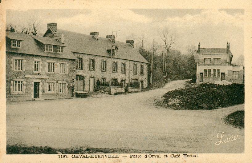 L'ancien bureau de la Poste de Hyenville et Orval
