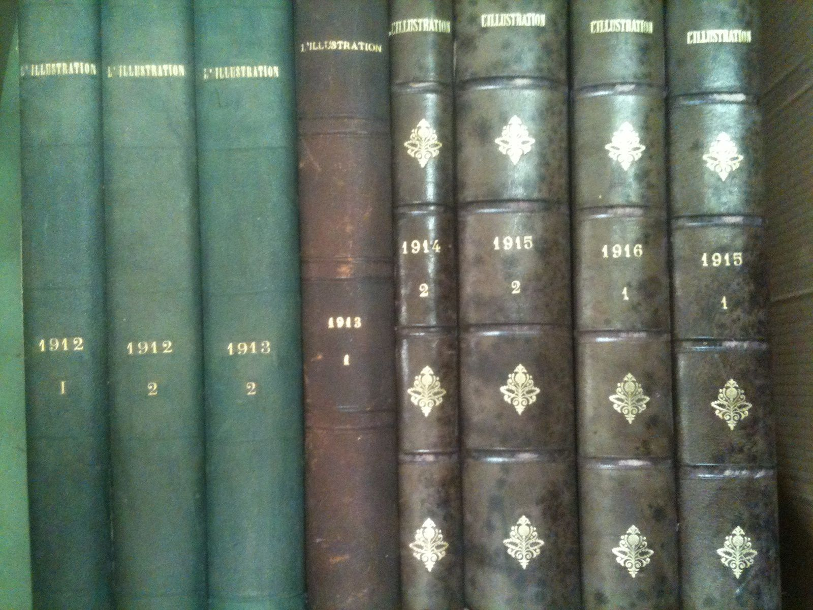 albums de l illustration des annees 1881 a 1922  tres belle reluire bon etat  prix 18€ piece  port possible