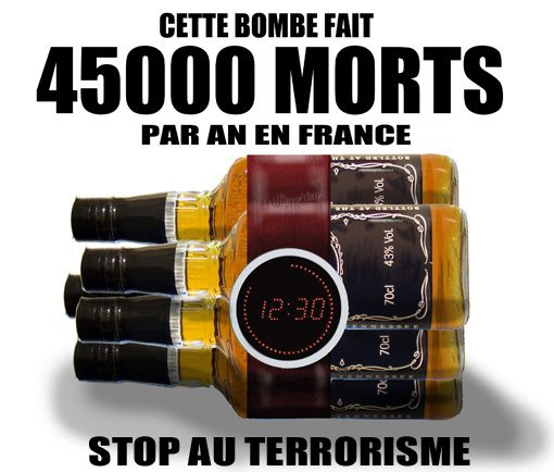 L'alcool fait 45000 morts par an en France