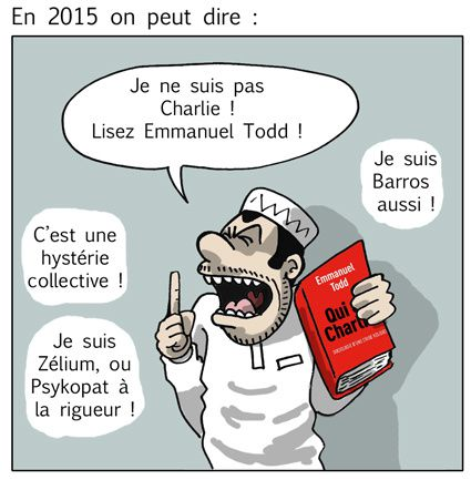 charlie hebdo, je suis charlie, emannuel todd, liberté expression