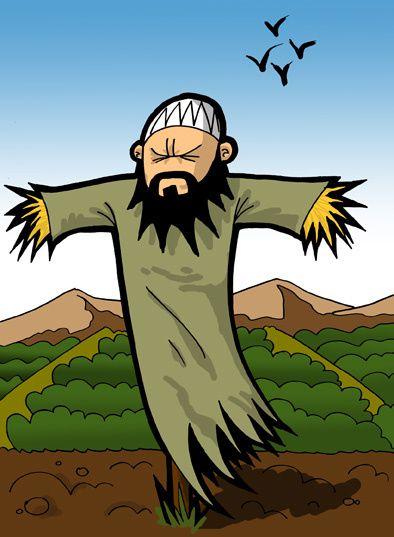 épouvantail, islam,