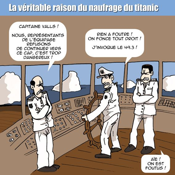 valls, titanic, naufrage, france 2016