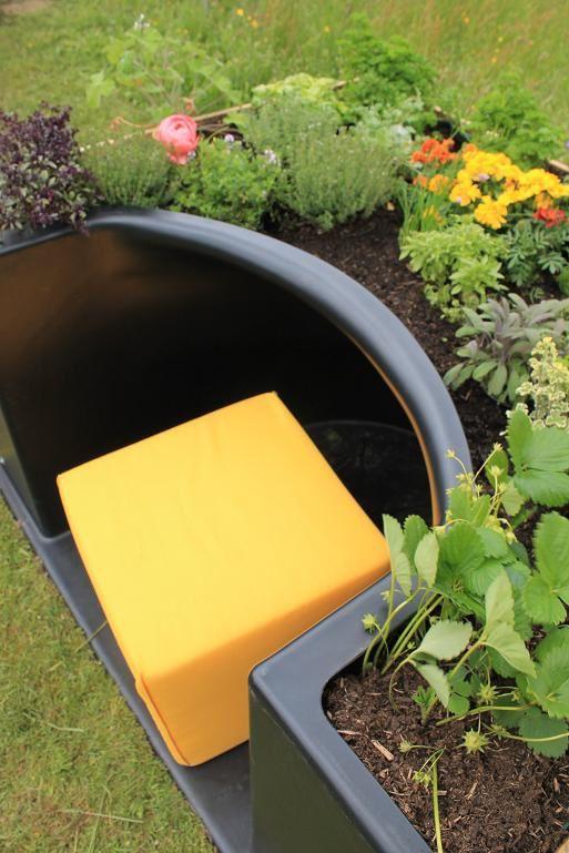 Pouvoir jardiner avec un fauteuil roulant n'est plus un obstacle avec Terraform