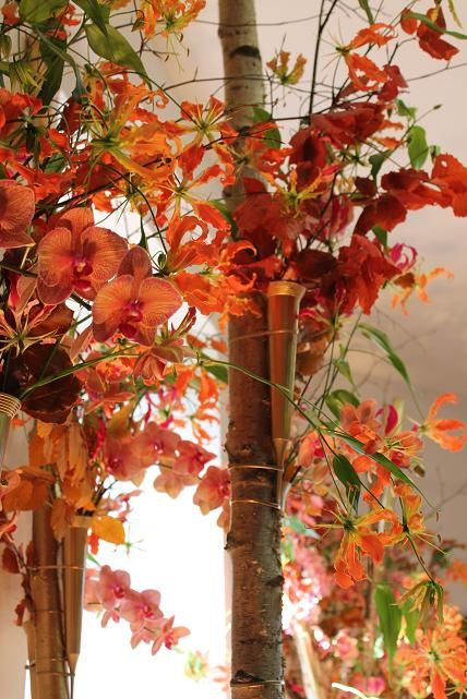 L'automne source d'inspiration pour centre de table luxueux par Neill Strain