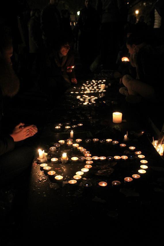 Petit geste d'amour pour 129 vies d'une soirée d'horreur