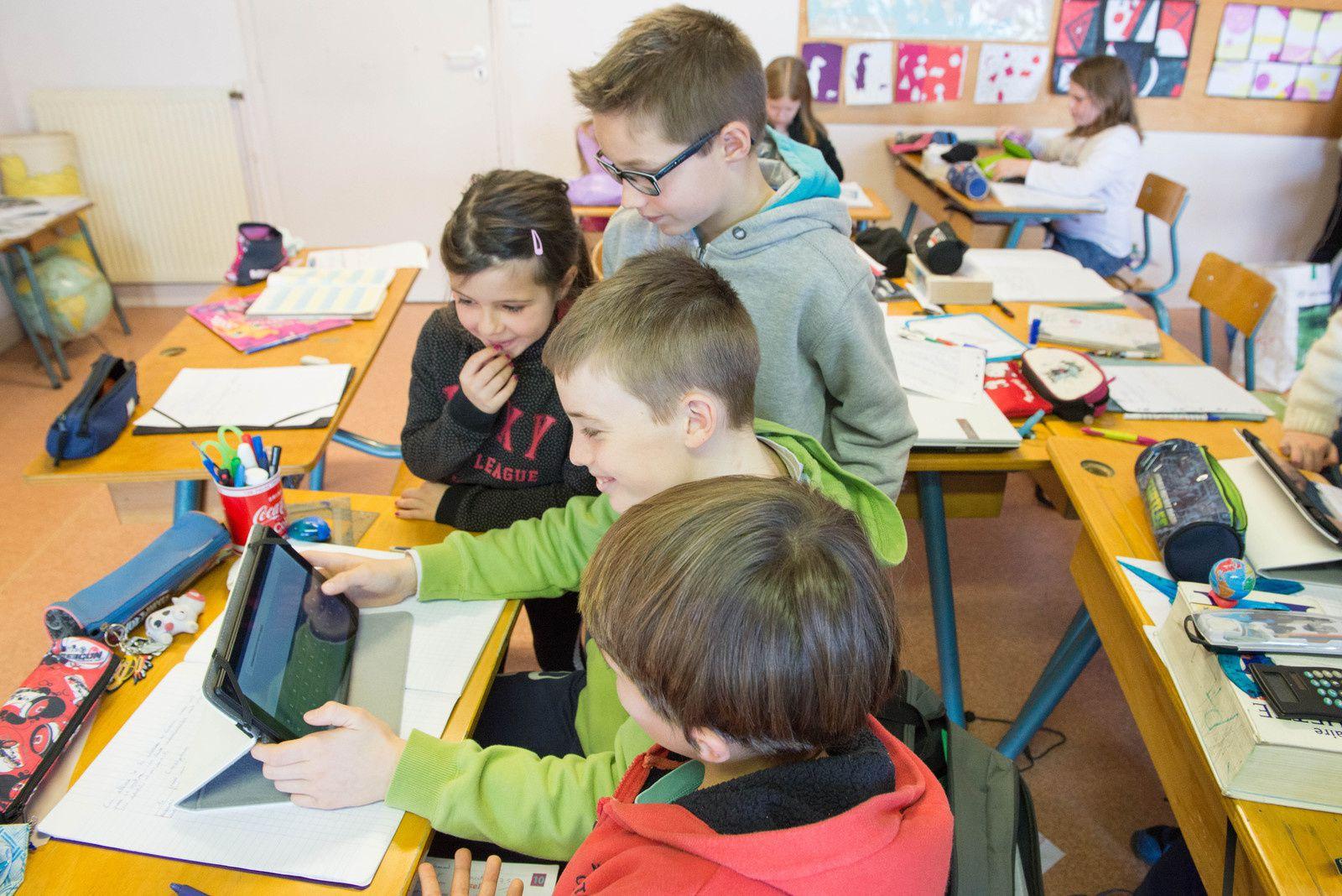 Tournon d'Agenais : Des nouvelles tablettes numériques à l'école primaire