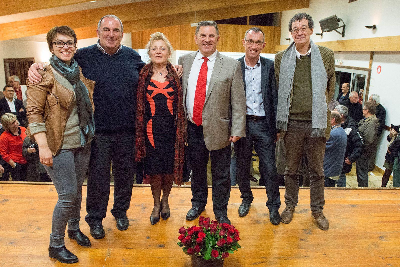 Elections Départementales 2015 : Fumélois, le ticket Borie/Gargowitsch élu