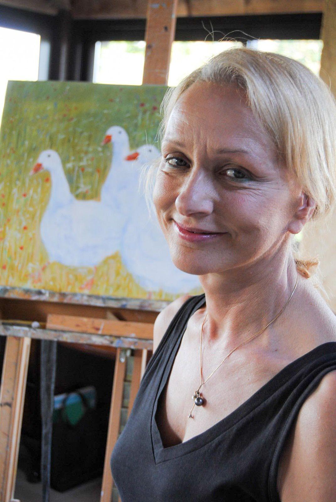 Tournon d'Agenais : Françoise Thouzeau-Liot expose à la galerie du Beffroi