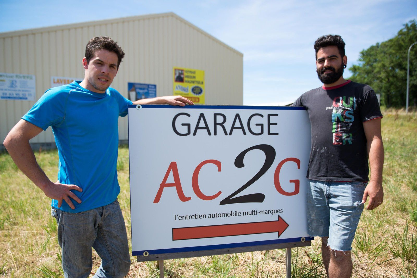 Tournon d 39 agenais un nouveau garage saint roc for Garage des platanes