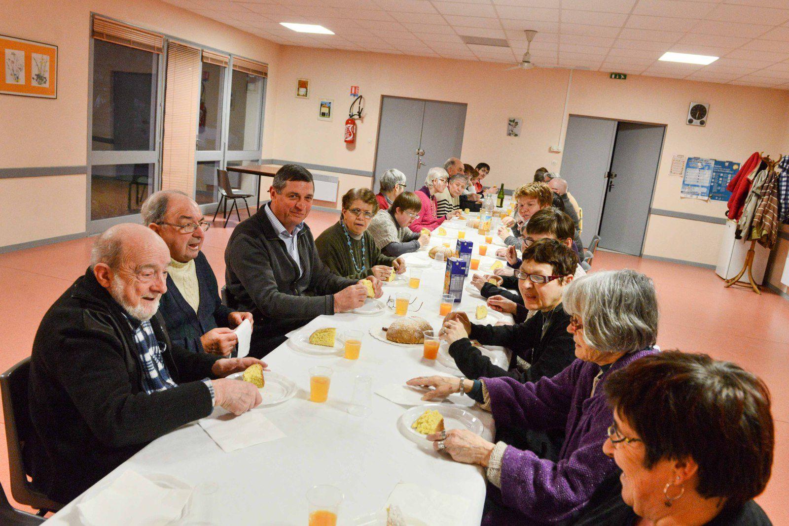 Tournon d'Agenais : La galette du CCAS