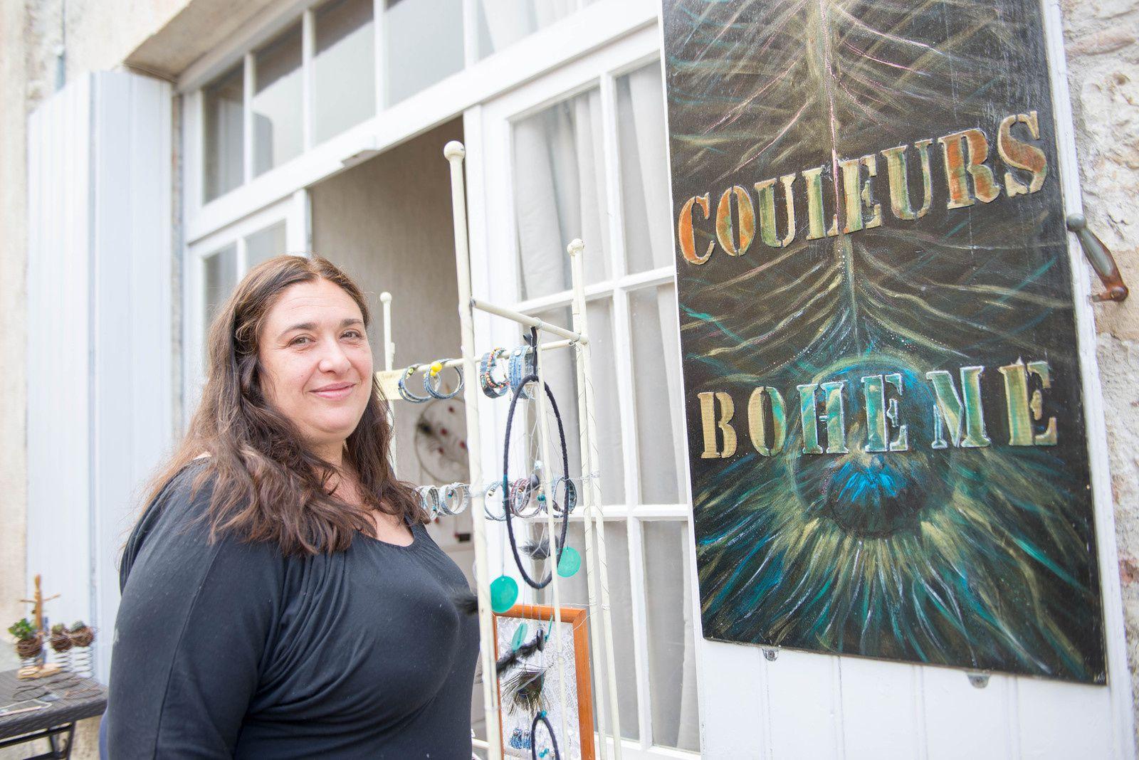 Tournon d'Agenais : L'Atelier « couleurs bohème »