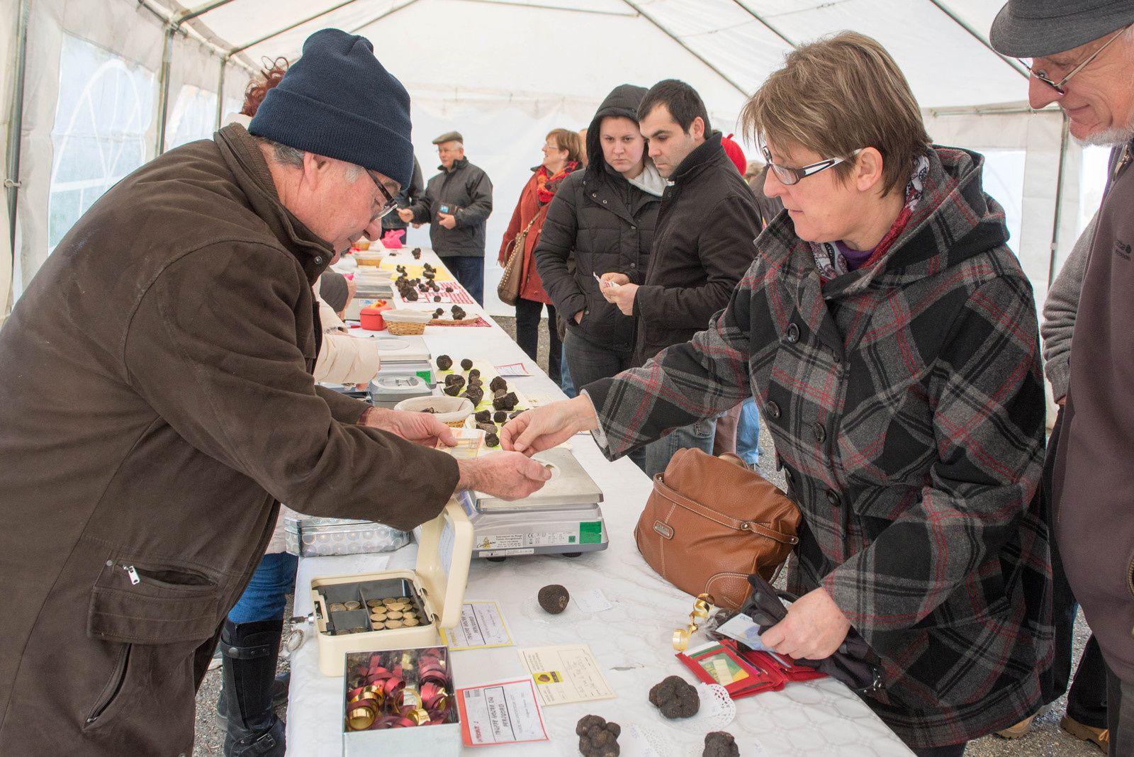 Tournon d'Agenais : Marché aux truffes ce dimanche