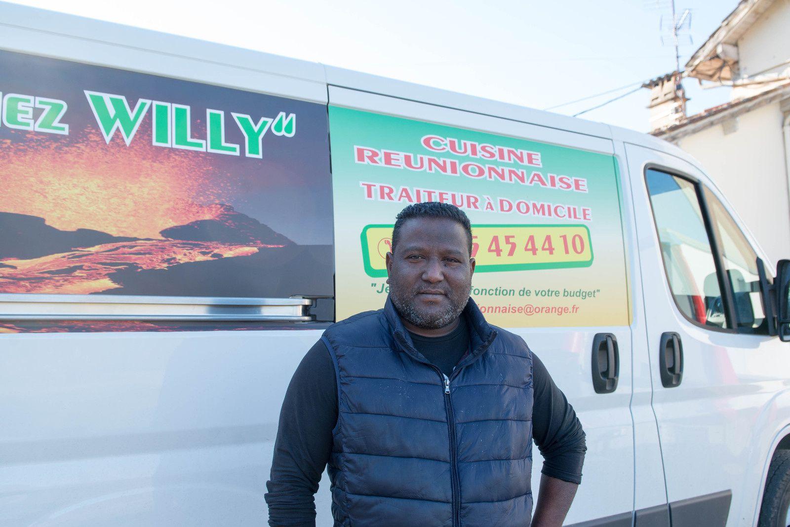 Willy le cuisinier Réunionnais du Fumélois