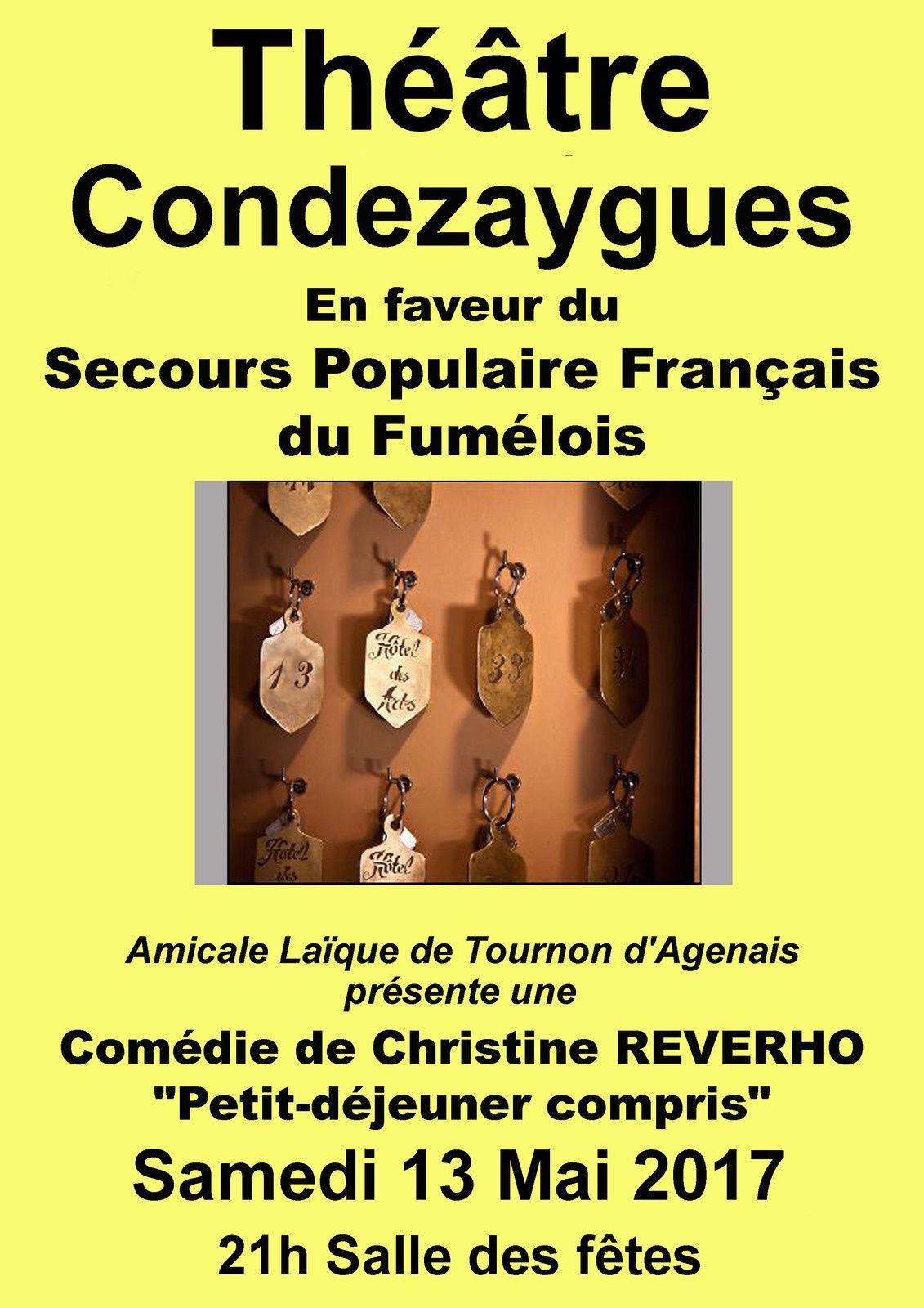 Fumélois : Petit Déjeuner Compris pour le Secours Populaire !